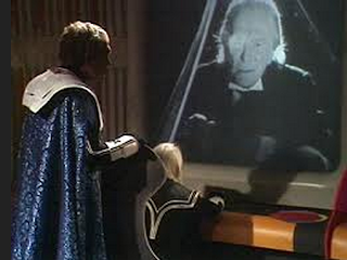 Hartnell in The Three Doctors via blogcritics.org