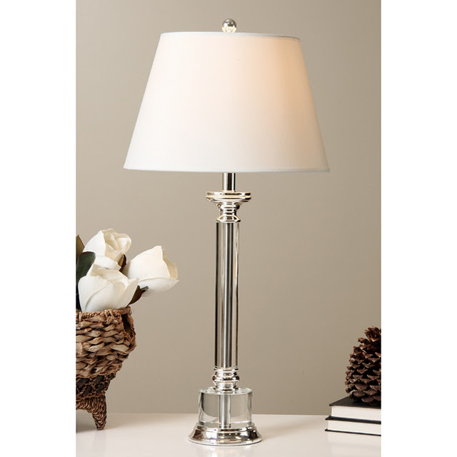 Copy Cat Chic Restoration Hardware Chelsea Column Table Lamp