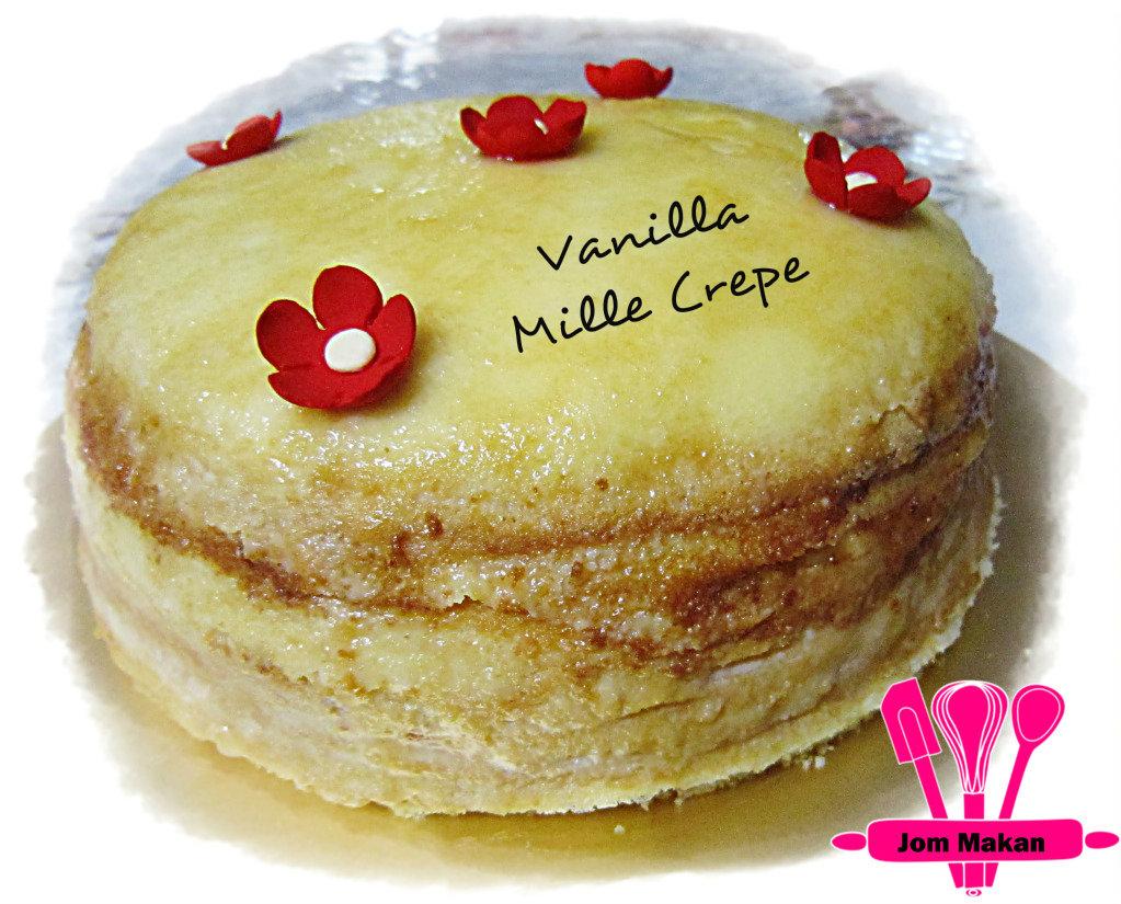 Thousand Layer Crepe Cake