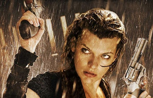 Milla Jovovich es Alice en la saga Resident Evil