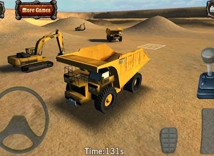 Mining Truck Parking Simulator apk game
