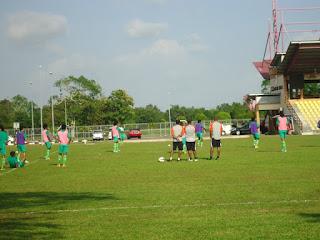 ringan menjelang pertemuan dengan Kelantan dalam saingan Piala AFC