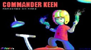 PS3 Commander Keen Episode 1 Marooned on Mars DOS Game ...