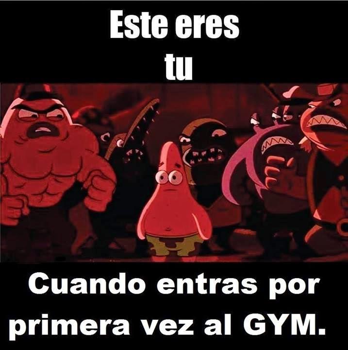 Primera vez en el gym