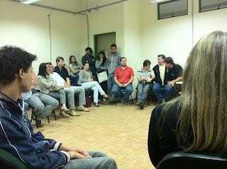Professores e alunos da Unipampa São Borja em assembleia