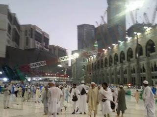 Kren Tumbang Atas Masjidil Haram