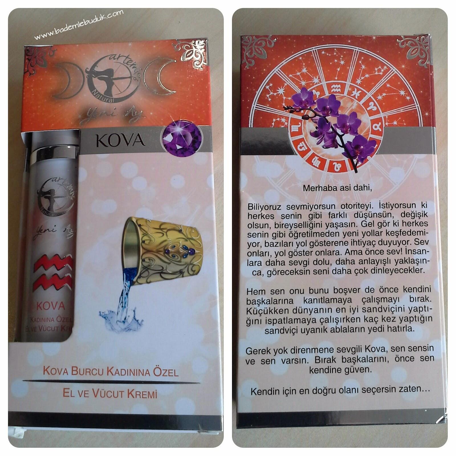 kova burcu - burç kremi - astroloji