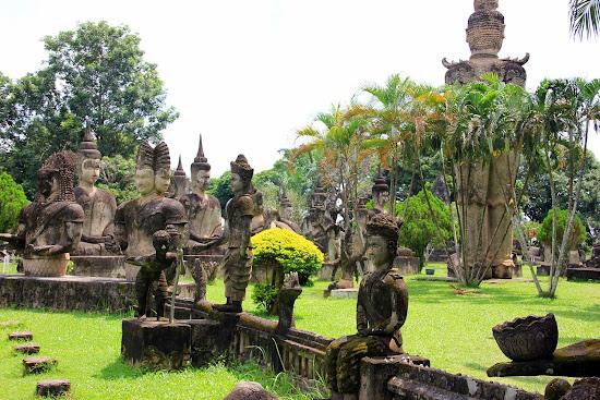 Parque Buda de Vientiane - Laos