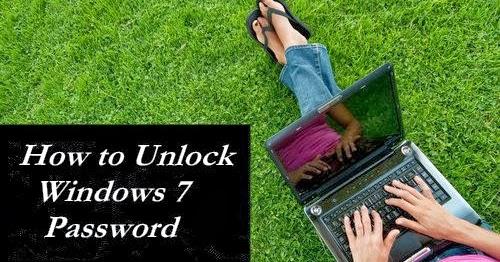 how to unlock a laptop windows 7
