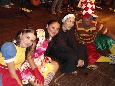 Faustininha, Jesulino, Maria Sapeca e sua boneca Maria Mole