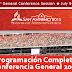 Programación Completa Conferencia General 2015