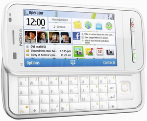 Nokia C6 Photo - touchphone with side-sliding QWERTY keyboard