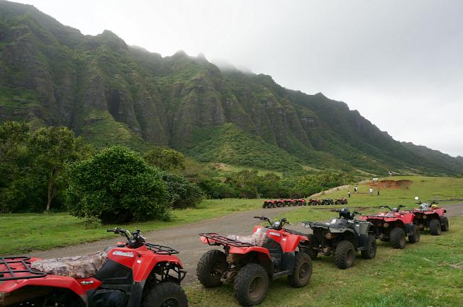 kualoa ranch, inside kualoa ranch, things to do in hawaii, atv, kooalau