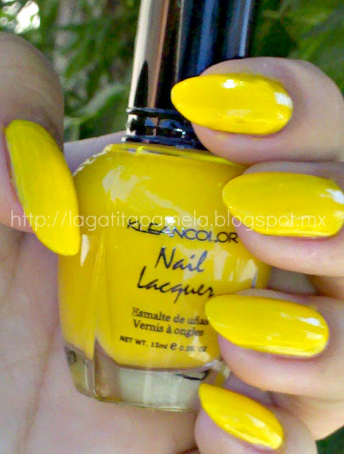 kleancolor neon yellow