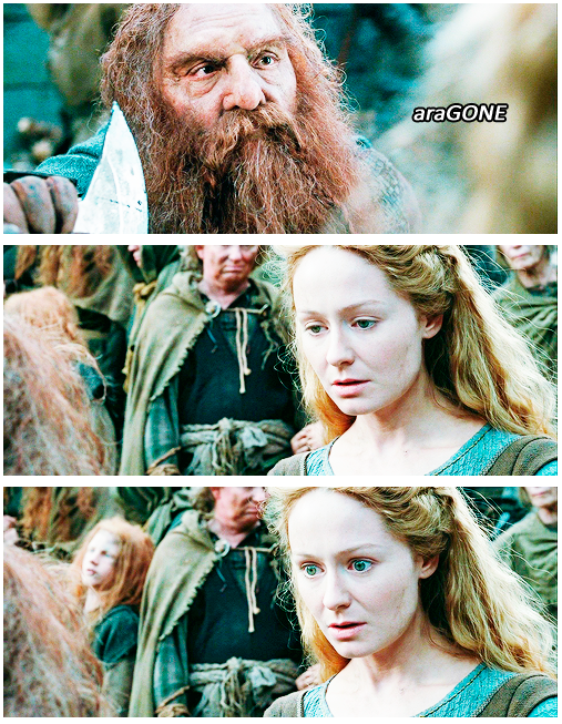 imagenes graciosas - el señor de los anillos - Gimli y Eowyn