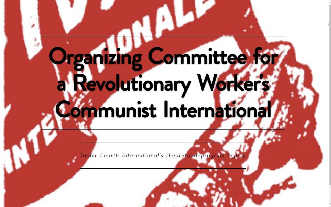 Comité Organizador por una Internacional Comunista Obrera y Revolucionaria