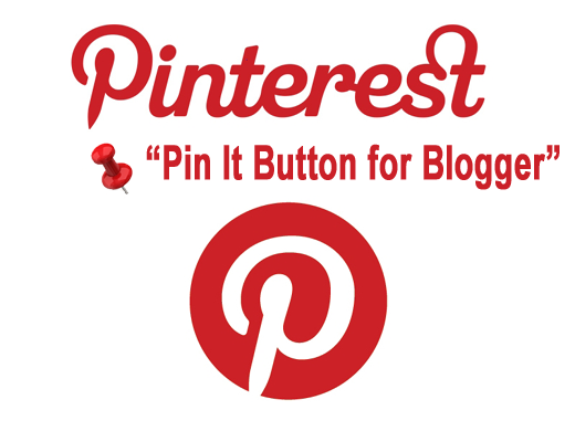 Pinterest Pin It Mouseover Button on Blogger Images