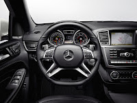 2011 Mercedes M-class ML63 AMG Official Press Image Photo Picture unveiled not mule interior steering wheel instruments gauges