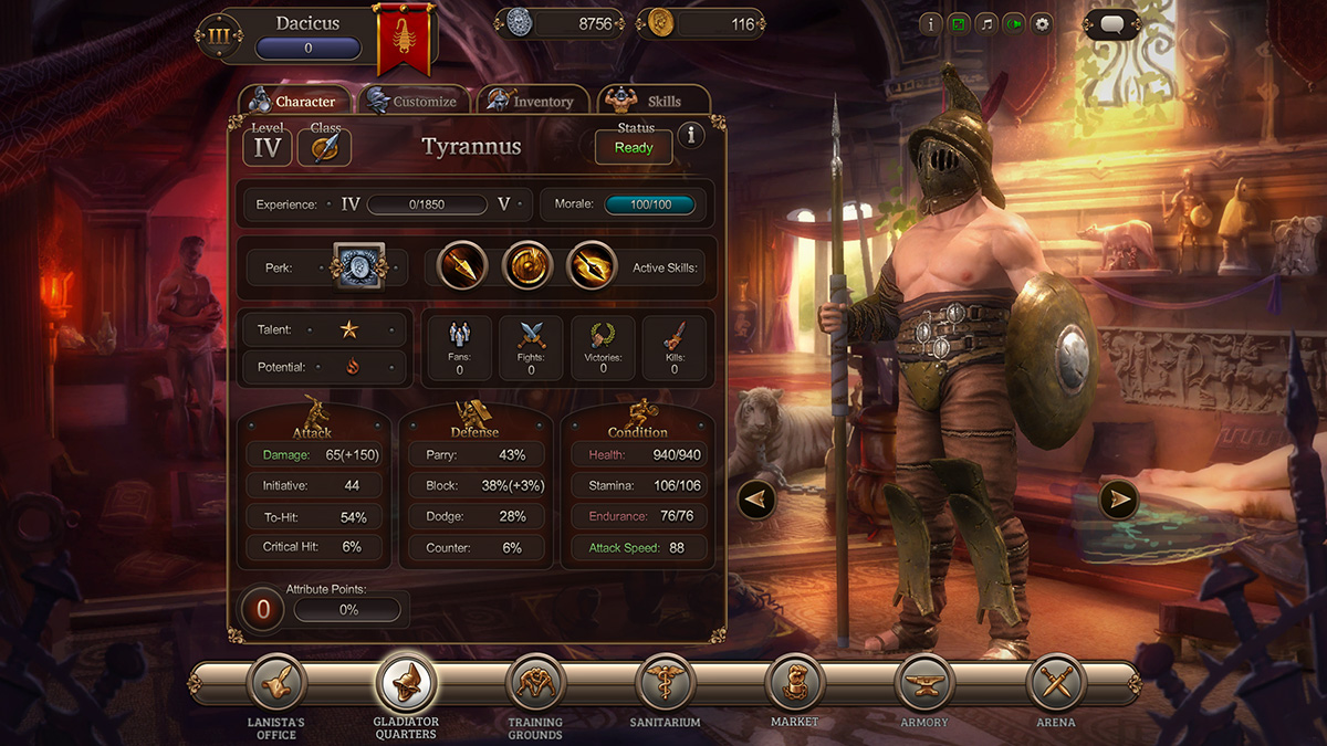 Gladiator Online Slot Game