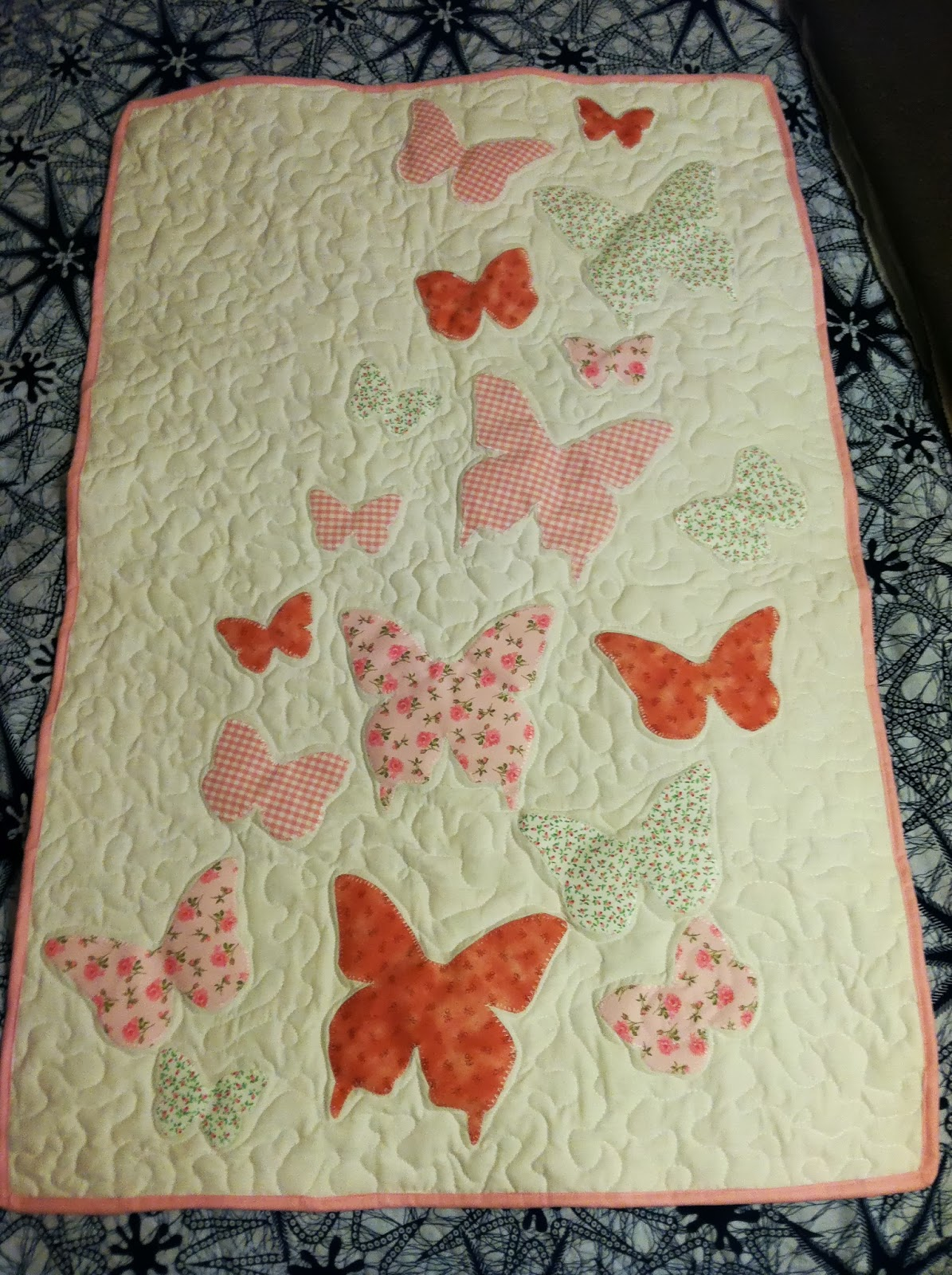 The Eighth Daughter Butterflies And Hole In The Barn Door Quilts