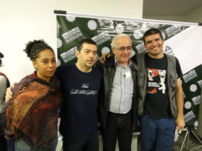 Amigos de Latuff - Dia da Terra Palestina - Faculdade Cásper Líbero
