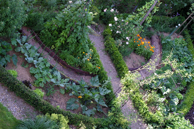 ein schweizer garten: der gemüsegarten, Gartenarbeit ideen