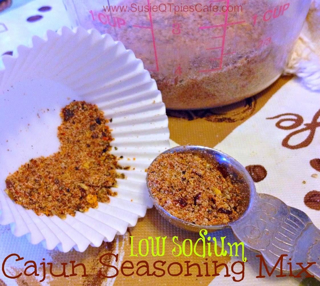 low sodium seasoning