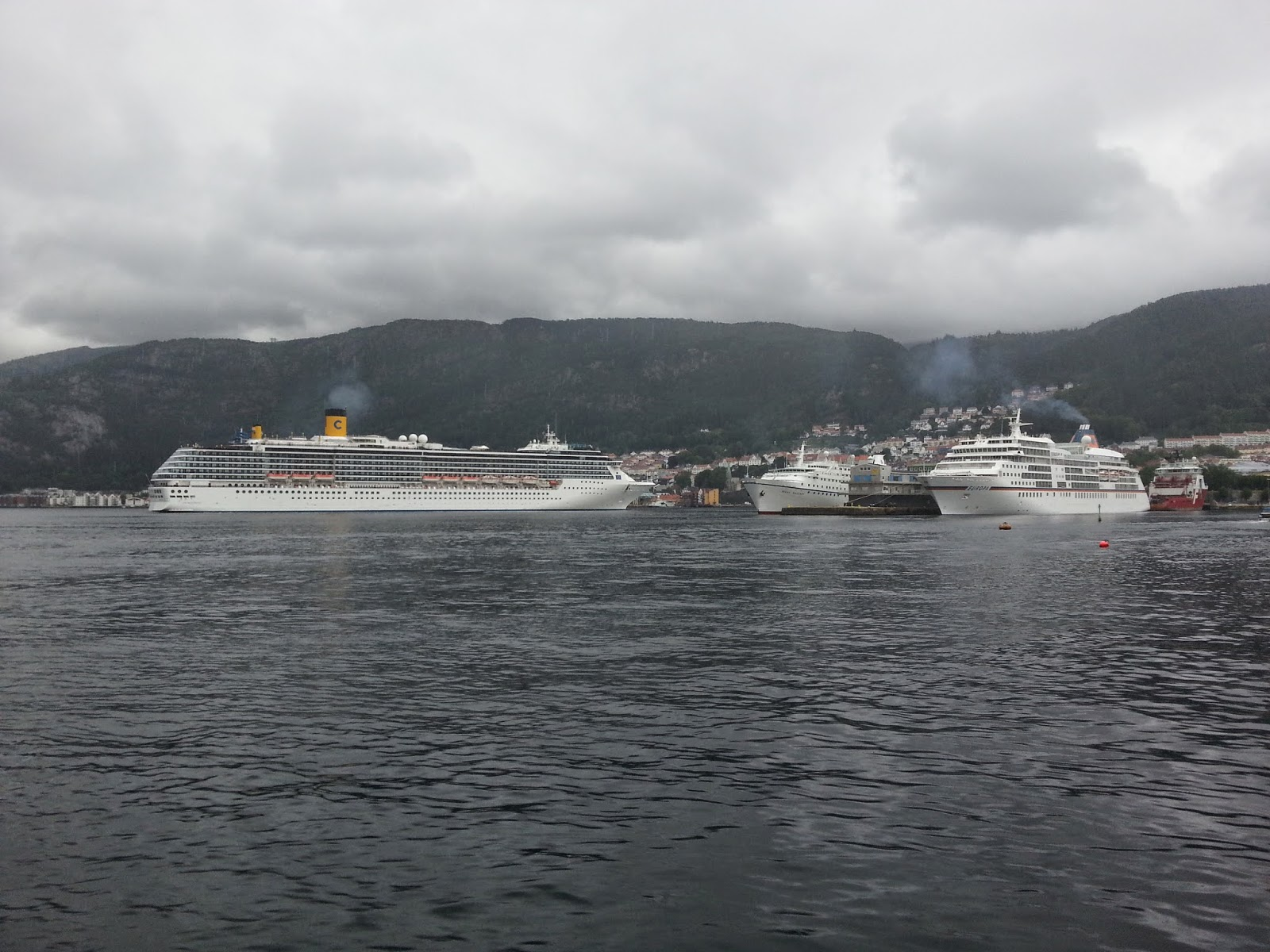Cruise Ship Costa Mediterranea in Bergen