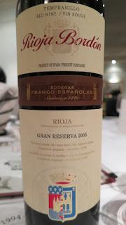 Rioja Bordón Gran Reserva 2005 - DOCa Rioja, Spain (90 pts)