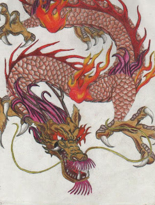 Drawing a Meaningful Chinese Dragon Tattoo