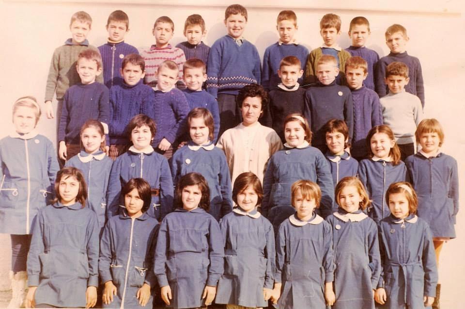 6ο Δημοτικό Έδεσσας 4η τάξη 1973