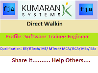 Kumaran-Systems-walkin-freshers-chennai