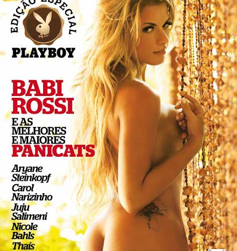 Especial Revista Playboy Traz Babi Rossi e outras cinco panicats em fotos inéditas