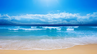 Beach View computer desktop backgrounds