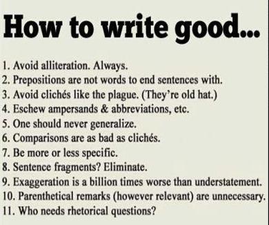 एक अच्छा लेखक कैसे बने