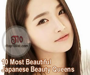 Top 10 Most Beautiful Japanese Beauty Queens