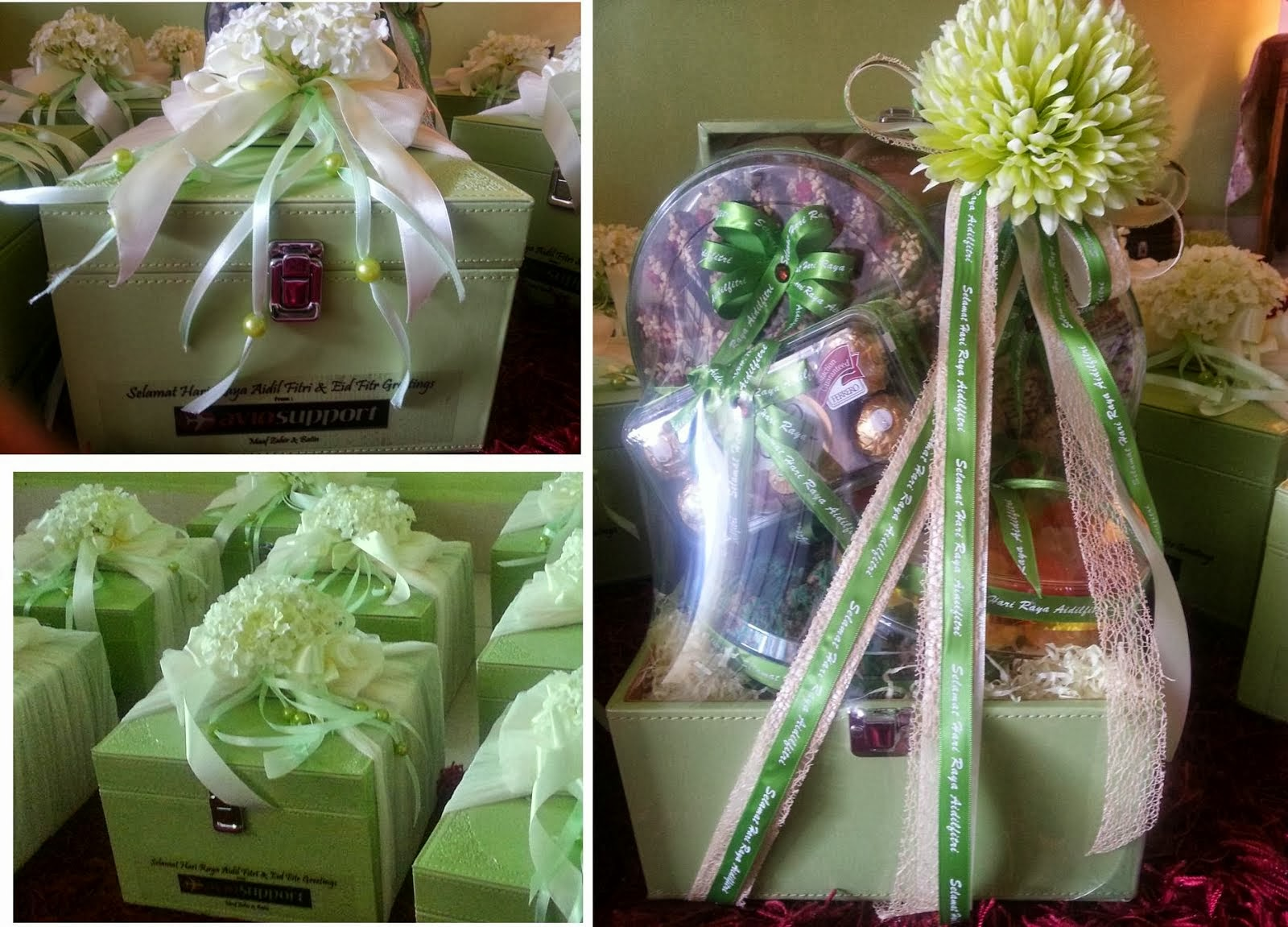 Tempahan Hamper 2013 - Ordered by Avio Support Singapore