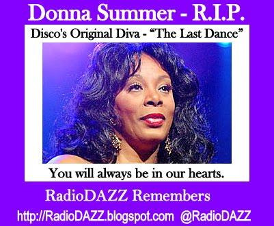 Donna summer r i p radiodazz remembers radio dazz music breaks to make your day - Diva radio disco ...