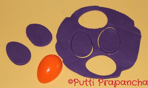 playdoh easter eggs