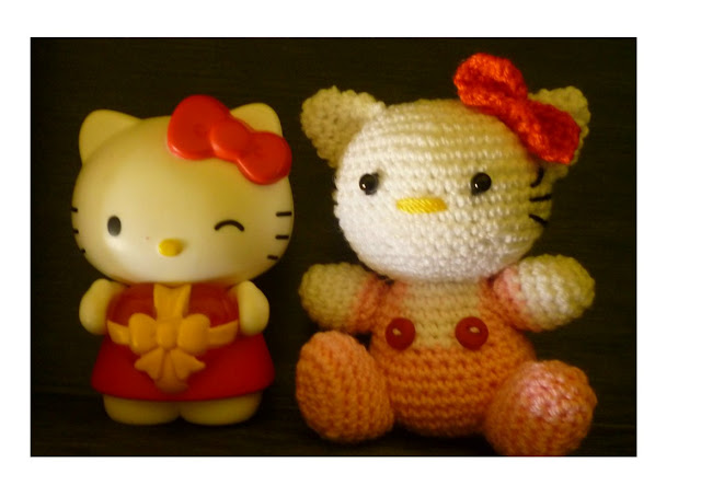 Amigurumi crochet cute baby Hello Kitty Pattern idea new