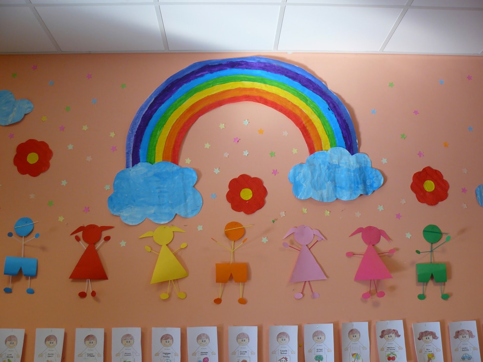 Laboratorio emozioni e creativit un angolo accogliente for Addobbi scuola infanzia accoglienza