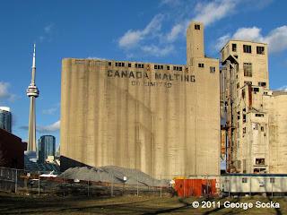 Canada Malting Abandoned Silos in Toronto
