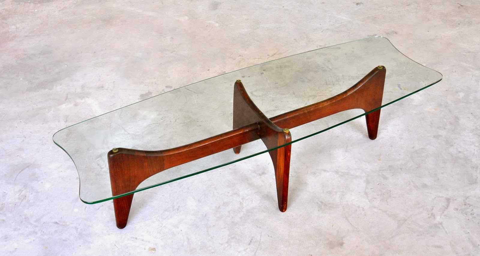 select modern: adrian pearsall stingray coffee or cocktail table