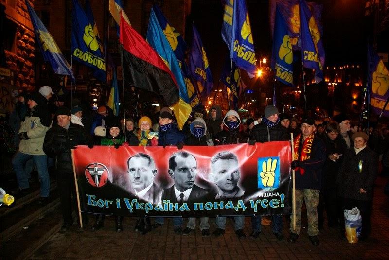 Митинг за отмену статьи за фашизм на Украине