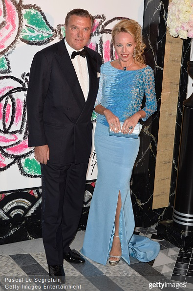 Prince Charles of Bourbon-Two Sicilies and Princess Camilla of Bourbon-Two Sicilies attend the Rose Ball 2015 in aid of the Princess Grace Foundation at Sporting Monte-Carlo