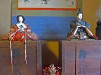 江戸時代の雛人形、古今雛。