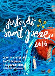 Cartel de las fiestas de Sant Pere 2016