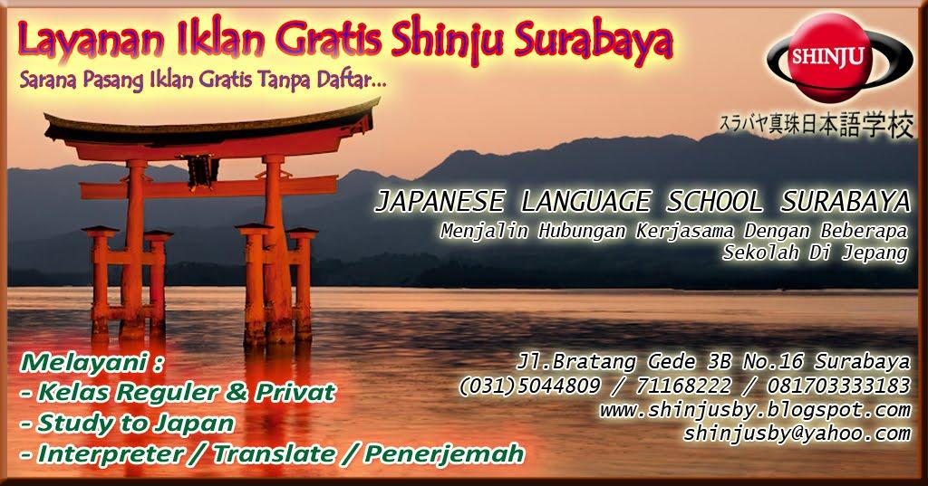 Layanan Iklan Gratis Shinju Surabaya