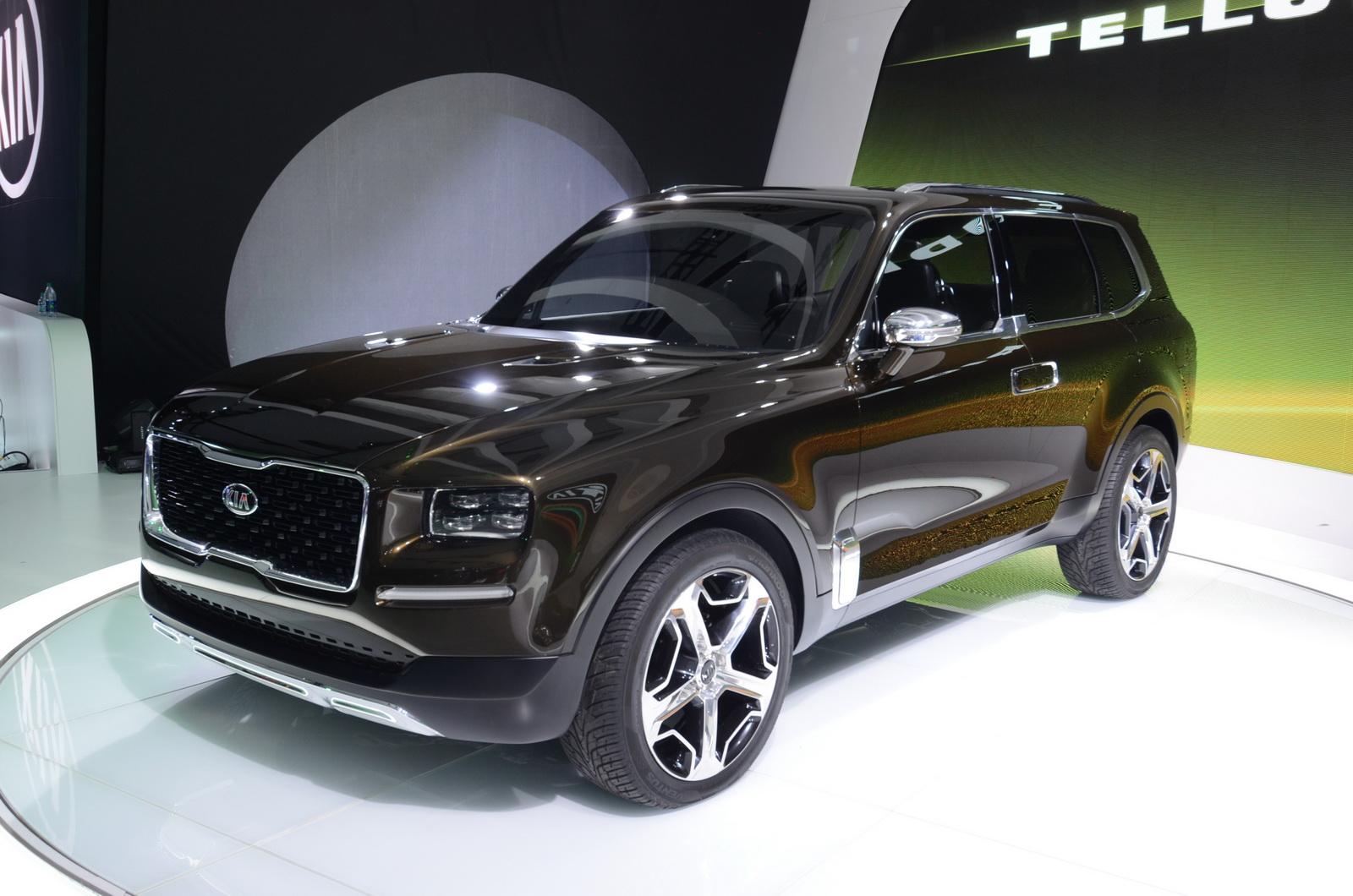 Boxy KIA Telluride Concept Looks Surprisingly Good In ...