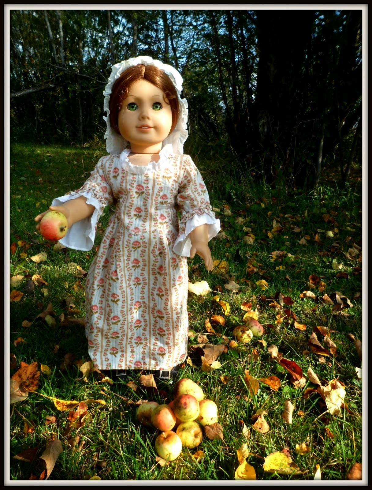 Felicity, fall apple picking